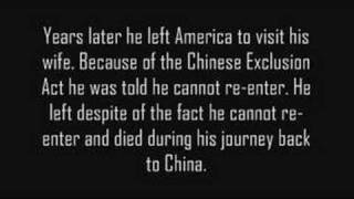 Chinese Exclusion Act of 1882 [Part 3]