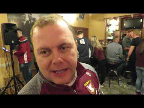 101218 Celebrations in Keoghs Pub in Mullinalaghta on Monday after the victory in Tullamore   Leinst