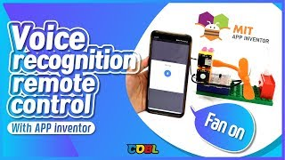 [COBL X Appinventor] Fan on, off! make voice recognition remote control with App inventor