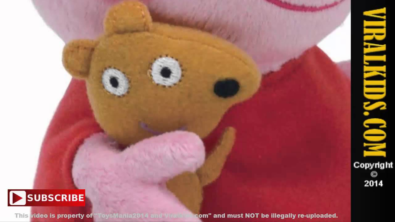 4fdecec0b57 Peppa Pig - Ty Beanie Babies Peppa Pig Regular Plush - Review - YouTube