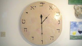 How To Make A Giant Paper Clay Wall Clock