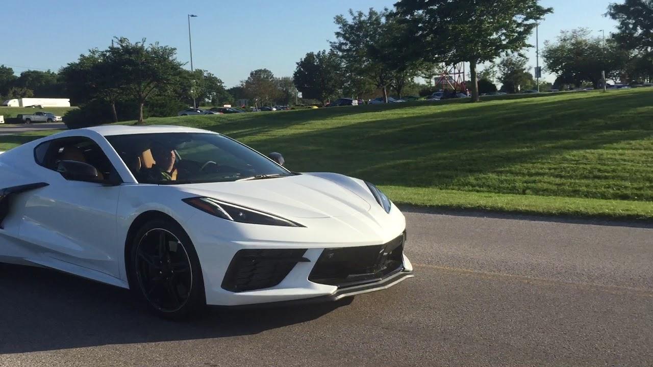 Chevrolet Corvette C8 Arctic White in the wild 2019 08 29 ...