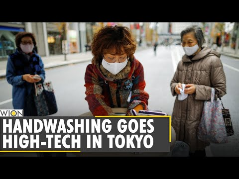 Tokyo shoppers clean hands, phones with high-tech wash stations | World News | WION News