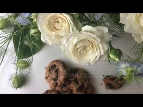 "YouTube recipe ""Vegan Chocolate Chip Cookies"" / ヴィーガンチョコチップクッキー レシピ"