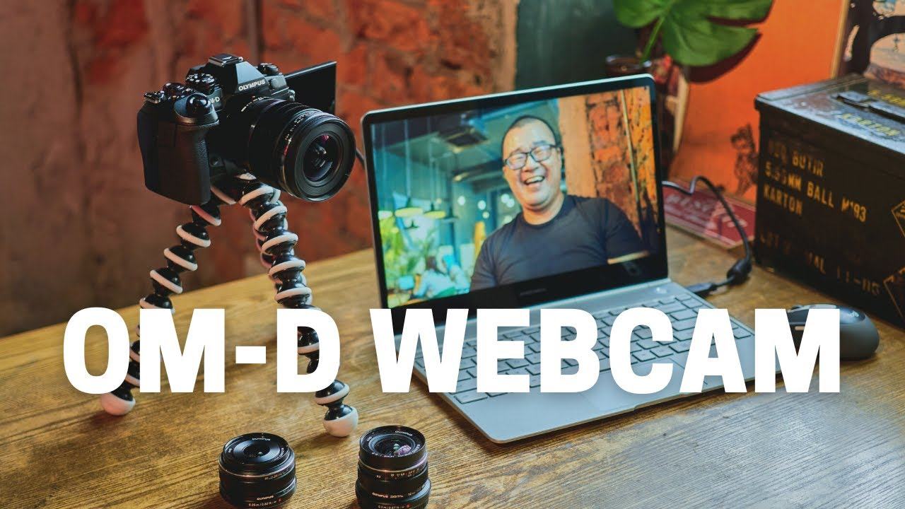 Olympus Launches OM-D WEBCAM - Use Your OM-D Camera For Video Conferencing and Streaming