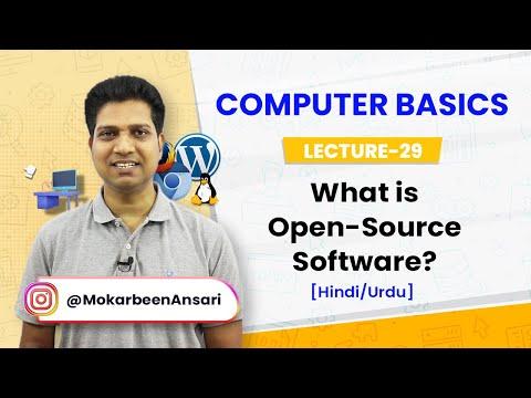 Open-source Software | What is open-source software ? | Example of open-source  [Hindi/Urdu]