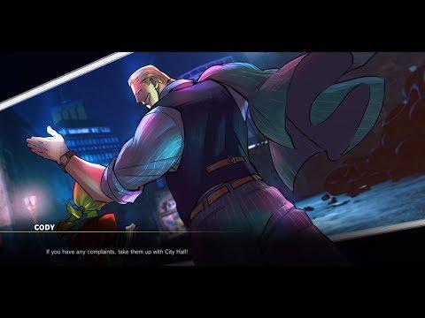 STREET FIGHTER V AE - Cody Story Mode [Feat. Abigail, Zeku, Miss Marlowe, Haggar]