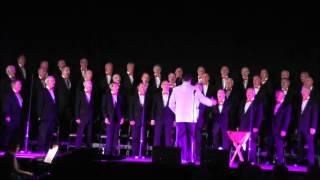 tredegar orpheus male voice choir sings i write the songs ebbw vale 18th april 2015