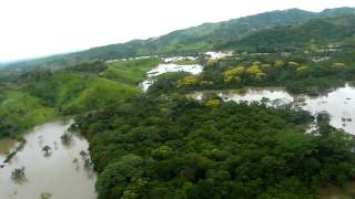 Devastación en Bayano (HD) - Arrozales sumergidos