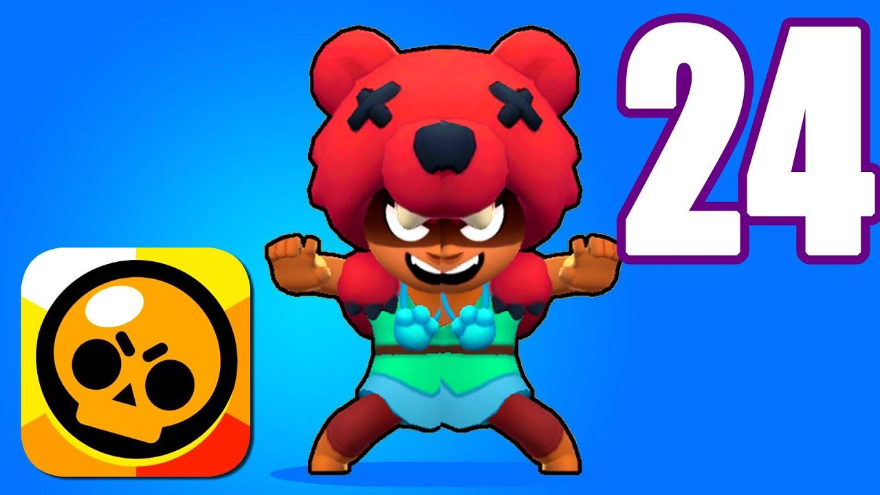 BRAWL STARS Duo Showdown Nita Gameplay (iOs, Android) Part 24 | Power of Gameplay