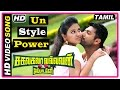 Sakalakala Vallavan Appatakkar Movie Songs Un Style Power Song Trisha intro Radha Ravi
