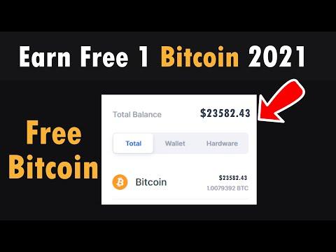 Earn Free 1 Bitcoin 2021 - Zero Invest Live Proof In Urdu Hindi