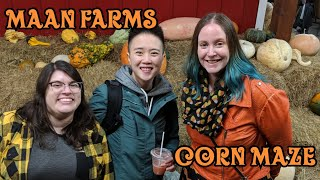 Going To Maan Farms Haunted Corn Maze