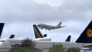 Boeing 747 - Final Flight to the Graveyard | FSX