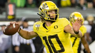 Every Justin Herbert Touchdown at Oregon (2016-2019)