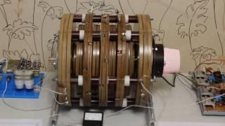 Без коллекторный дисковый электродвигатель нового поколения
