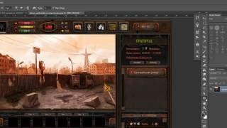 Как рисовать эффект ржавчины /How draw rust