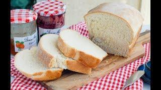 EASY White Bread Recipe | 簡單白麵包(吐司)食譜