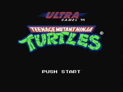 TMNT (NES) Music: Title Screen Extended HD