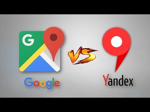 Google Haritalar Vs Yandex Haritalar (2020)