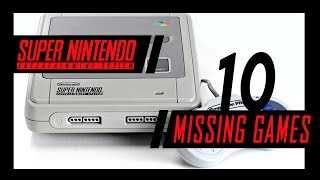 10 Games Missing From The SNES Classic