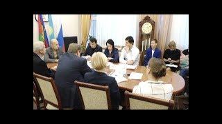 Совет молодых депутатов Анапы встретился с председателем комитета ЗСК  Александром Поголовым