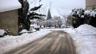 Saint Michel de Maurienne sous la neige...