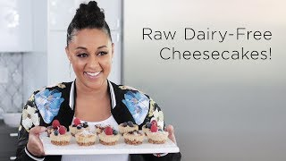 Tia Mowry's Gluten Free No Bake Cheesecake | Quick Fix