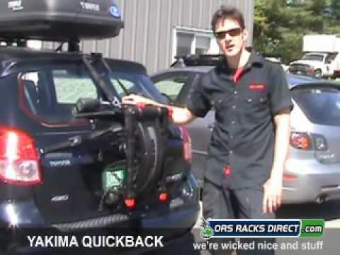 Yakima Quickback Trunk Bike Racks Review Video By Ors