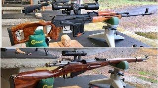 Dragunov (Romanian PSL) vs Mosin Nagant M91 sniper