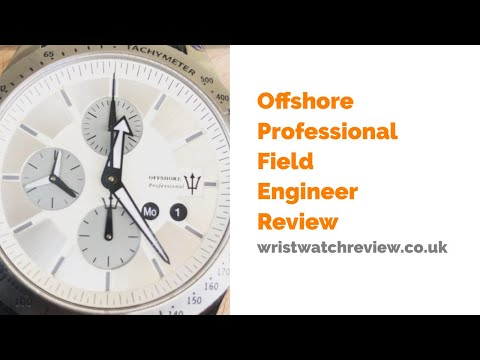 Offshore Professional Field Engineer Watch Review