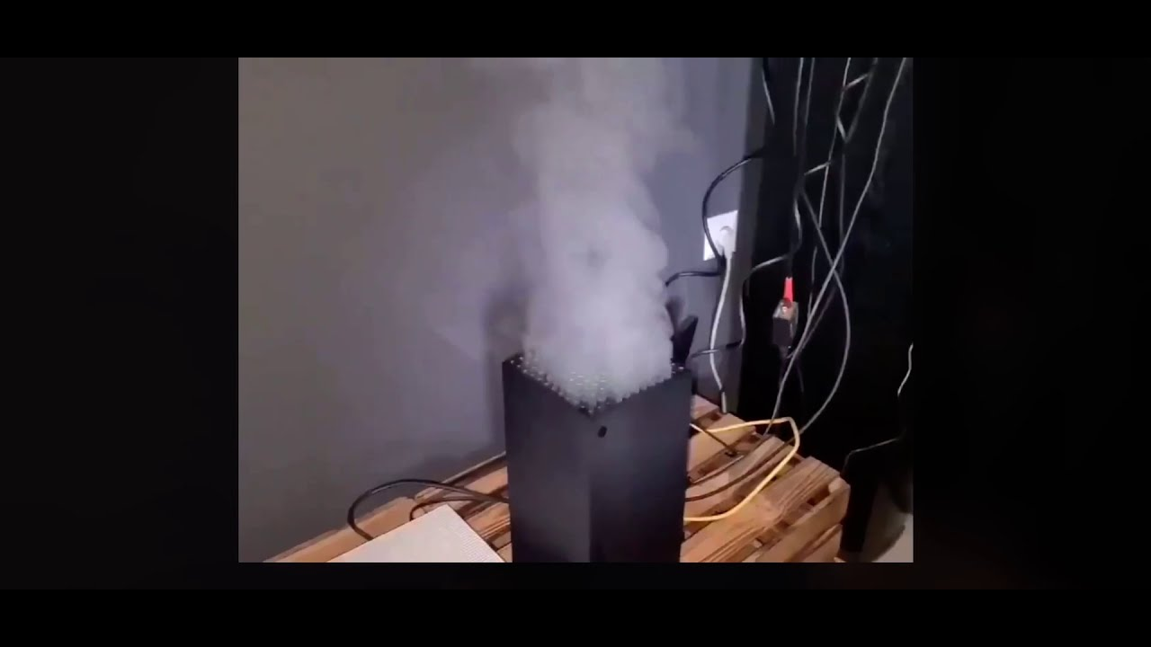 Xbox Series X Smoking First Day of Release