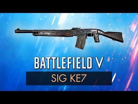 BF5: KE7 REVIEW ~ Battlefield 5 Weapons + Guns (Guide)   Battlefield V Gameplay (BFV) thumbnail