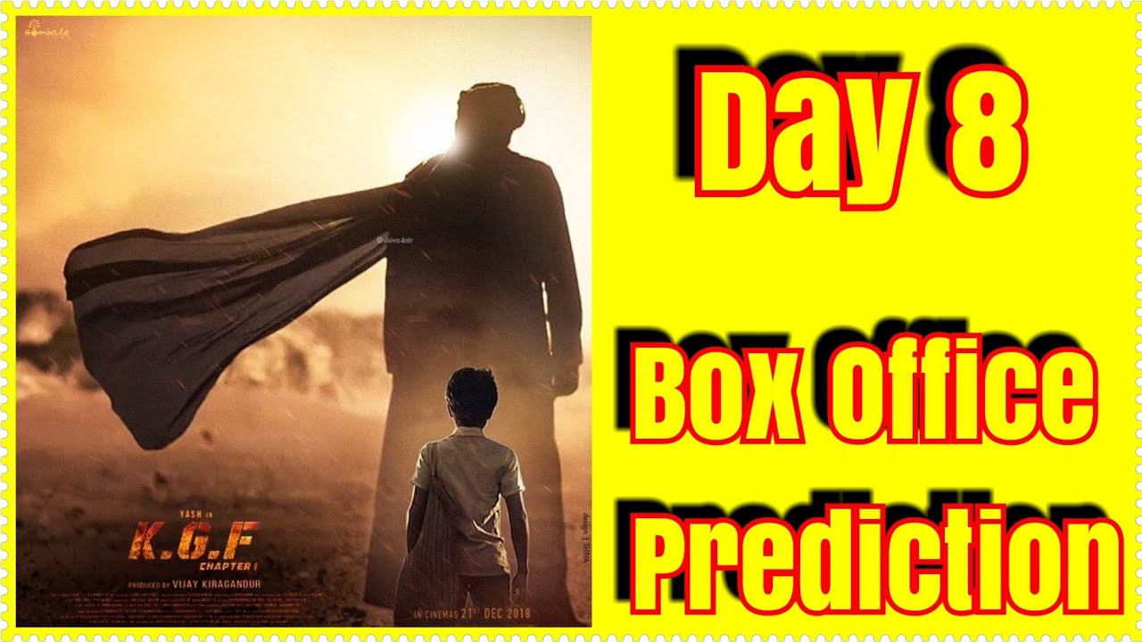 Kgf Movie Box Office Prediction Day 8 In Hindi Youtube