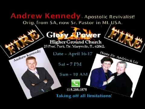 Dr.Andries - Andrew Kennedy from MI with us this weekend