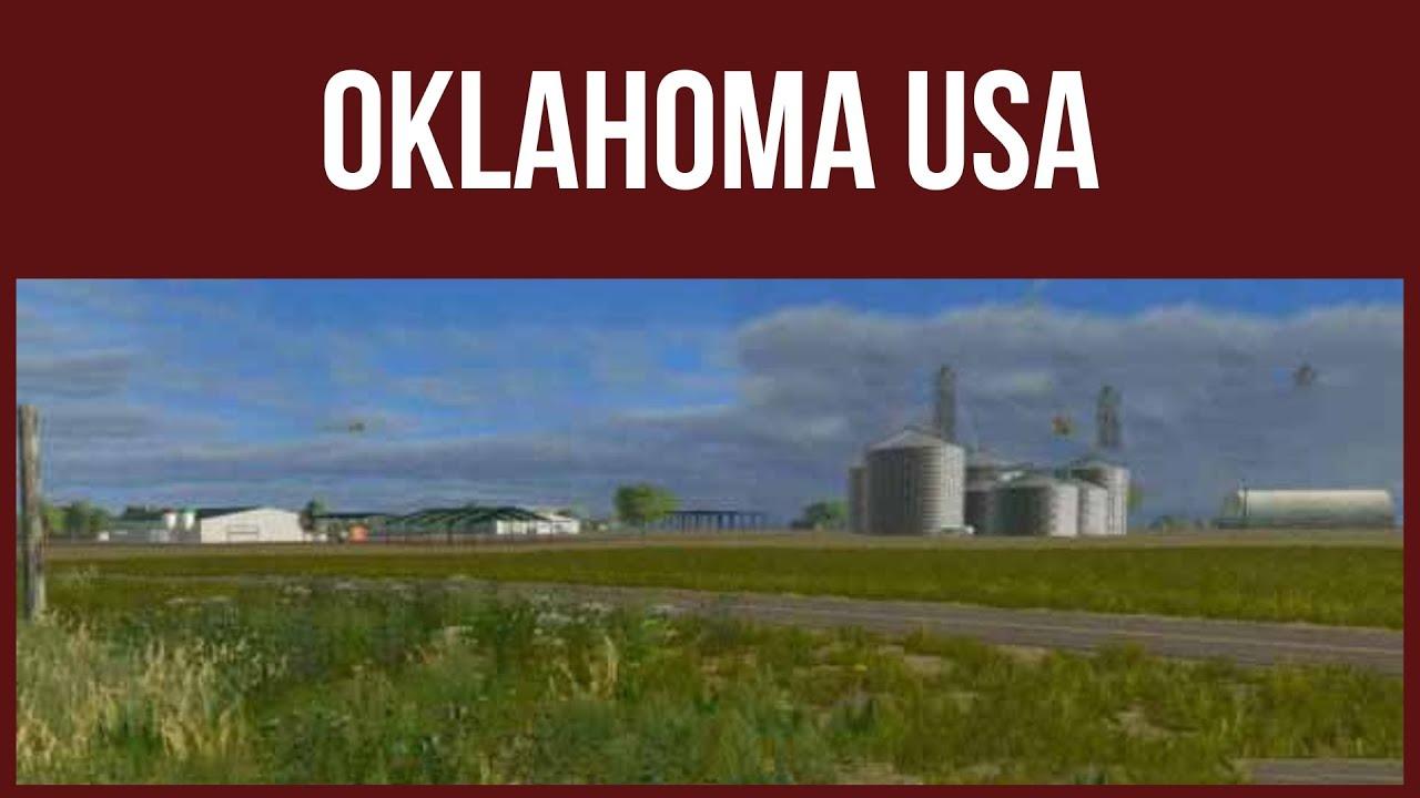 Farming Simulator OKLAHOMA USA YouTube - Farming simulator 2015 us map feed cows