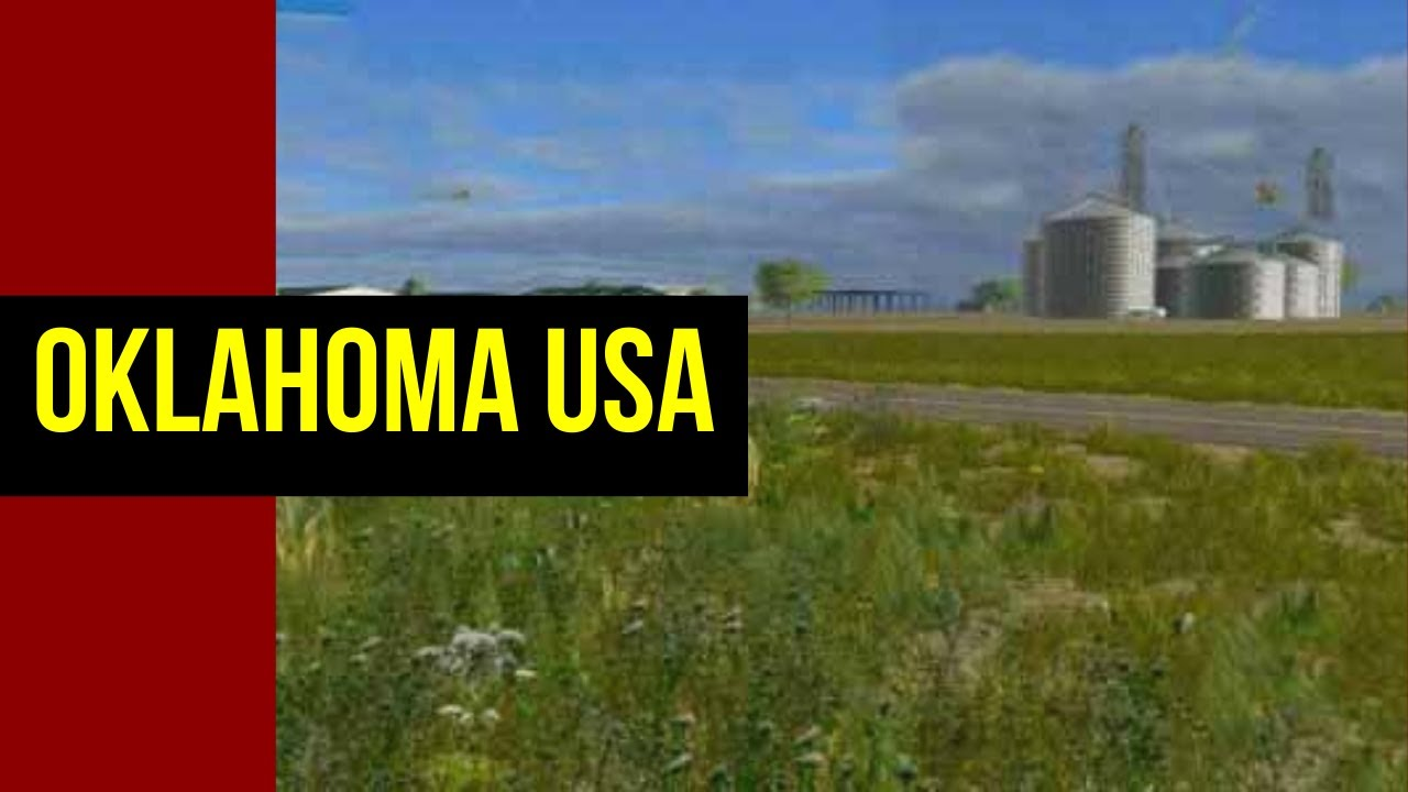 Farming Simulator 15 Oklahoma Usa Youtube