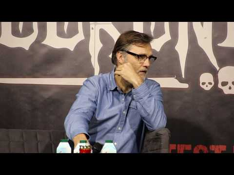 David Morrissey & Lawrence Gillard Jr about being a  of the zombie genre