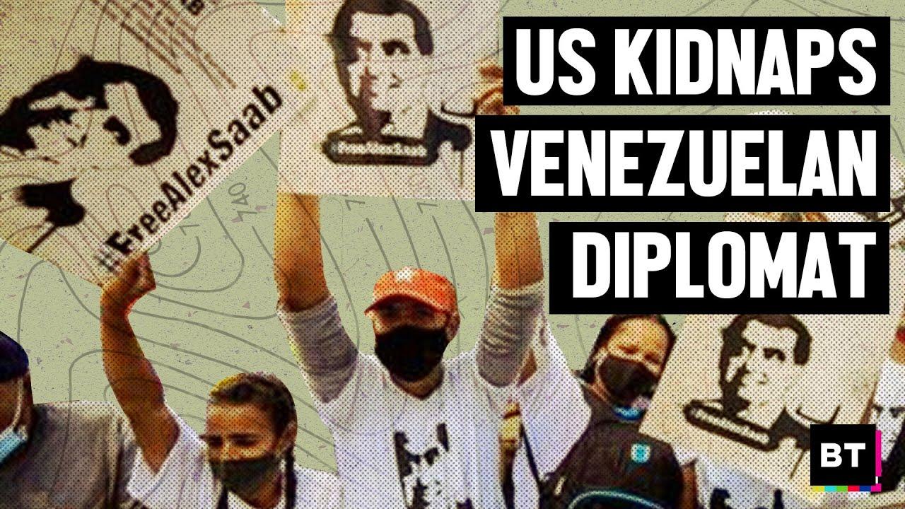 Download US Kidnapping of Venezuelan Diplomat Alex Saab: Illegal & Dangerous Act of Piracy