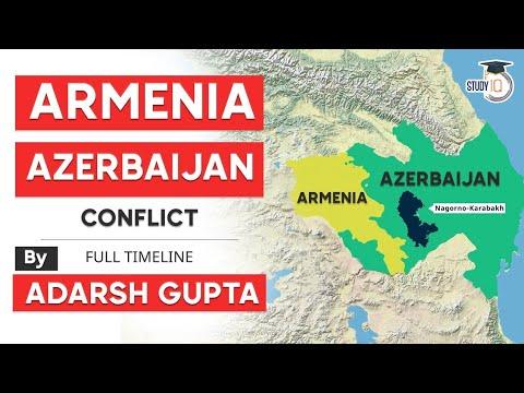 Armenia Azerbaijan Conflict full timeline explained - Significance of Nagorno Karabakh region