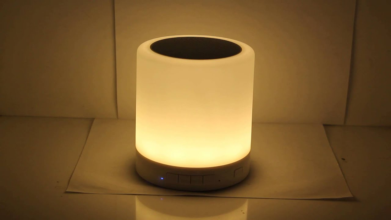 Touch Lamp Magic Bluetooth Speaker   YouTube