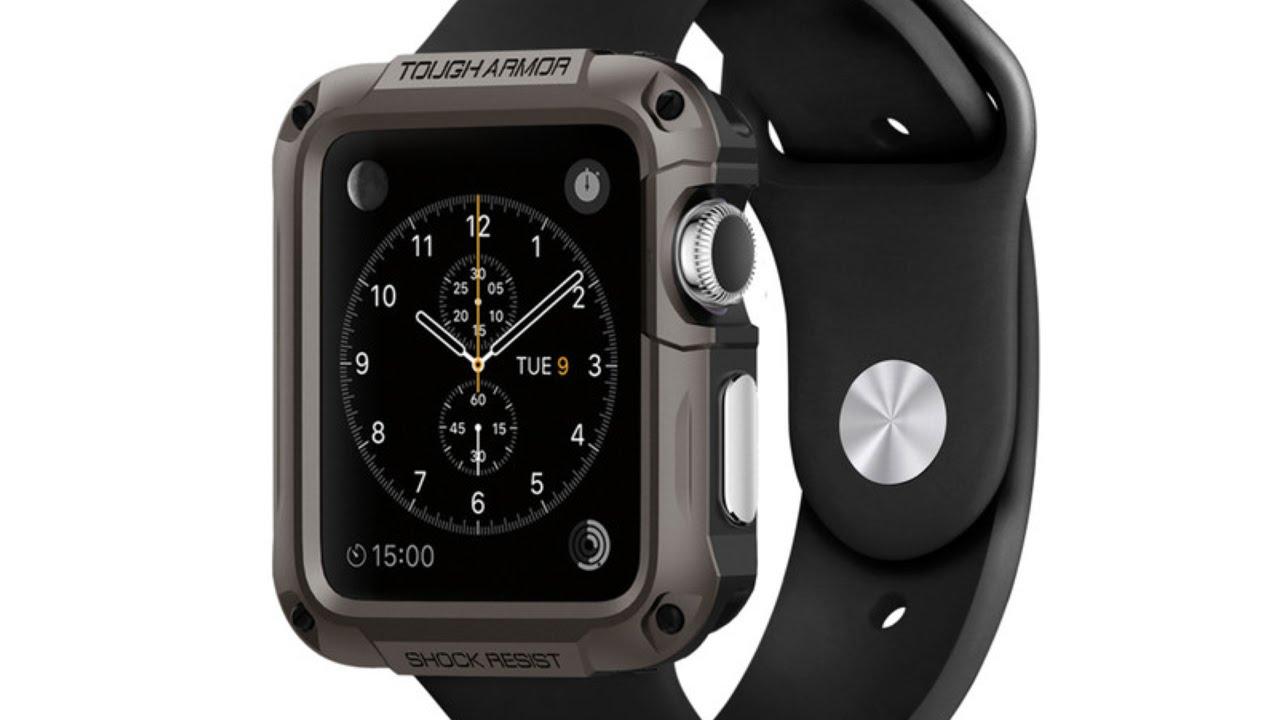 Applewatchをgショックっぽくするケース ラギットアーマーケース Youtube