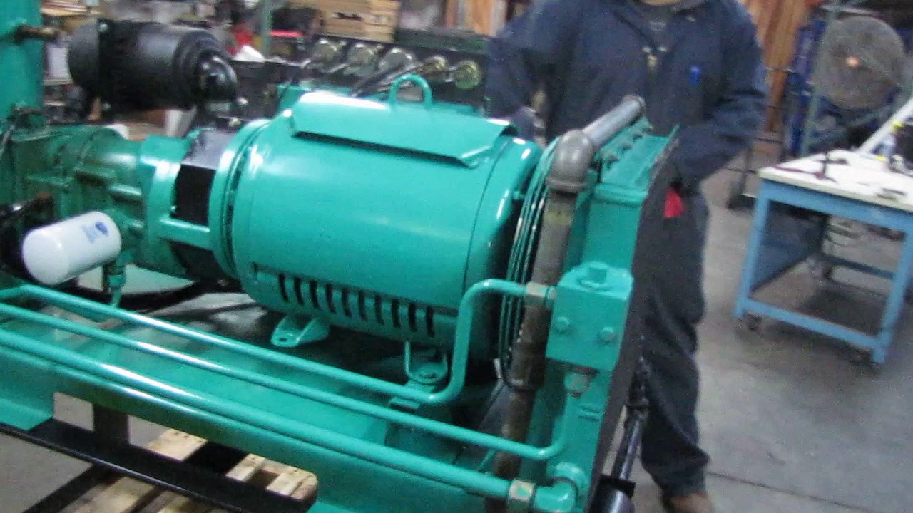 medium resolution of  array sullivan palatek 30hp rotary screw air compressor 115 acfm 30d7 rh youtube com