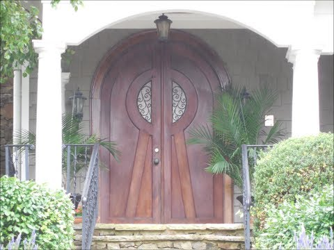 Exterior front doors designs part 1 house building for Home designs video