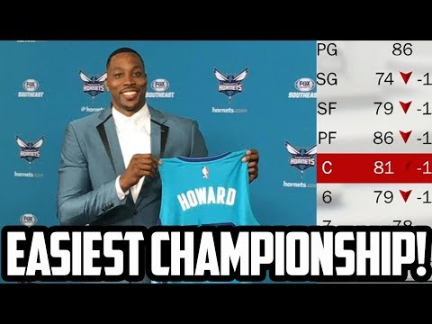 DWIGHT RETURNS TO GREATNESS? 2018 Charlotte Hornets Rebuild