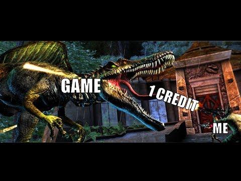 Jurassic Park Arcade[1 Credit]-Full Playthrough
