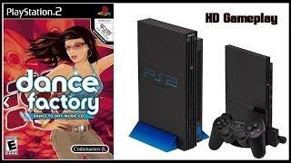 Dance Factory (PS2)(2006) Gameplay (HD) Rihanna - Pon de Replay, Bodyrockers - I Like the Way