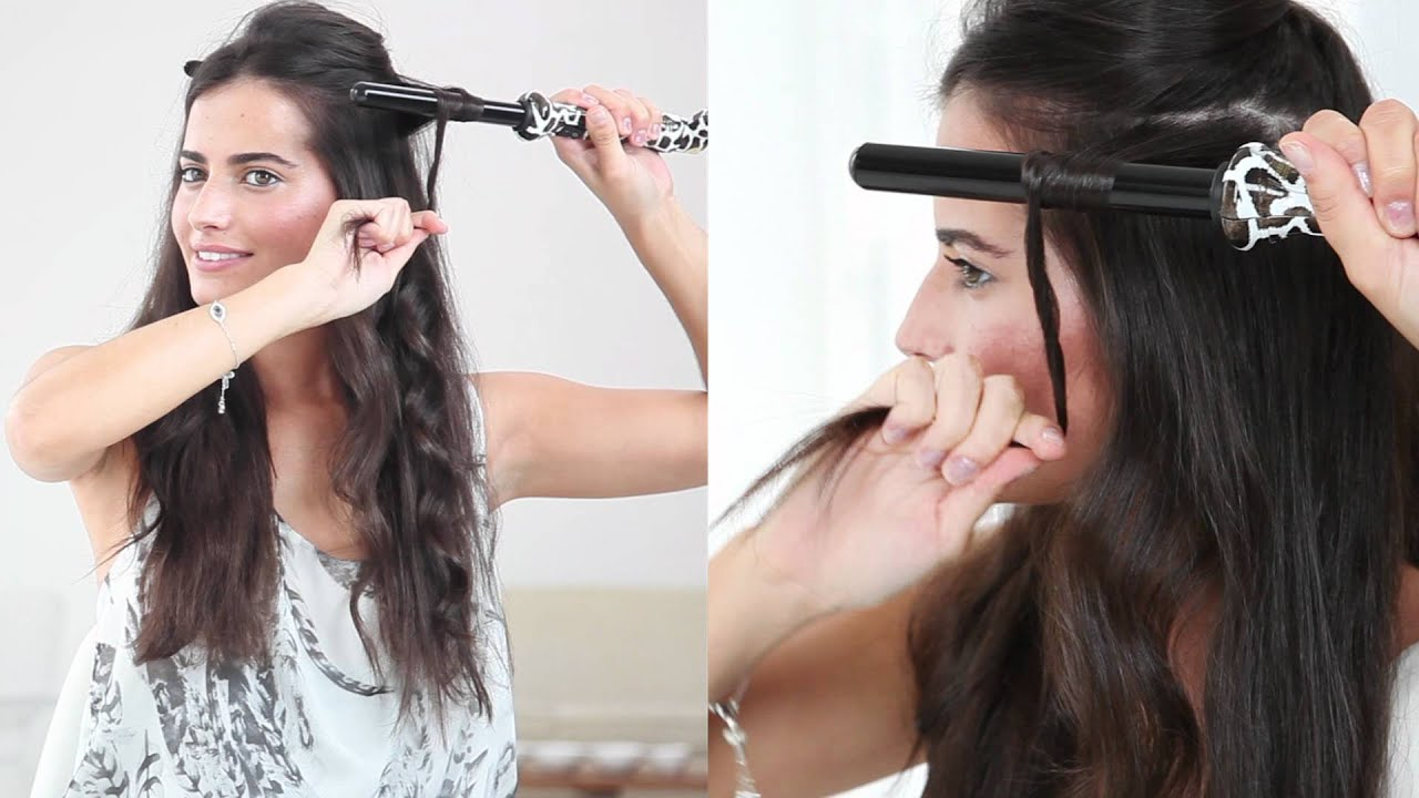 Create Loose Curls With The Amika 19mm Tourmaline Curler