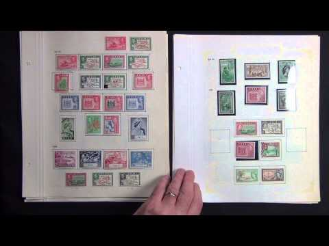Fiji 1871-1970 All Different Stamp Collection