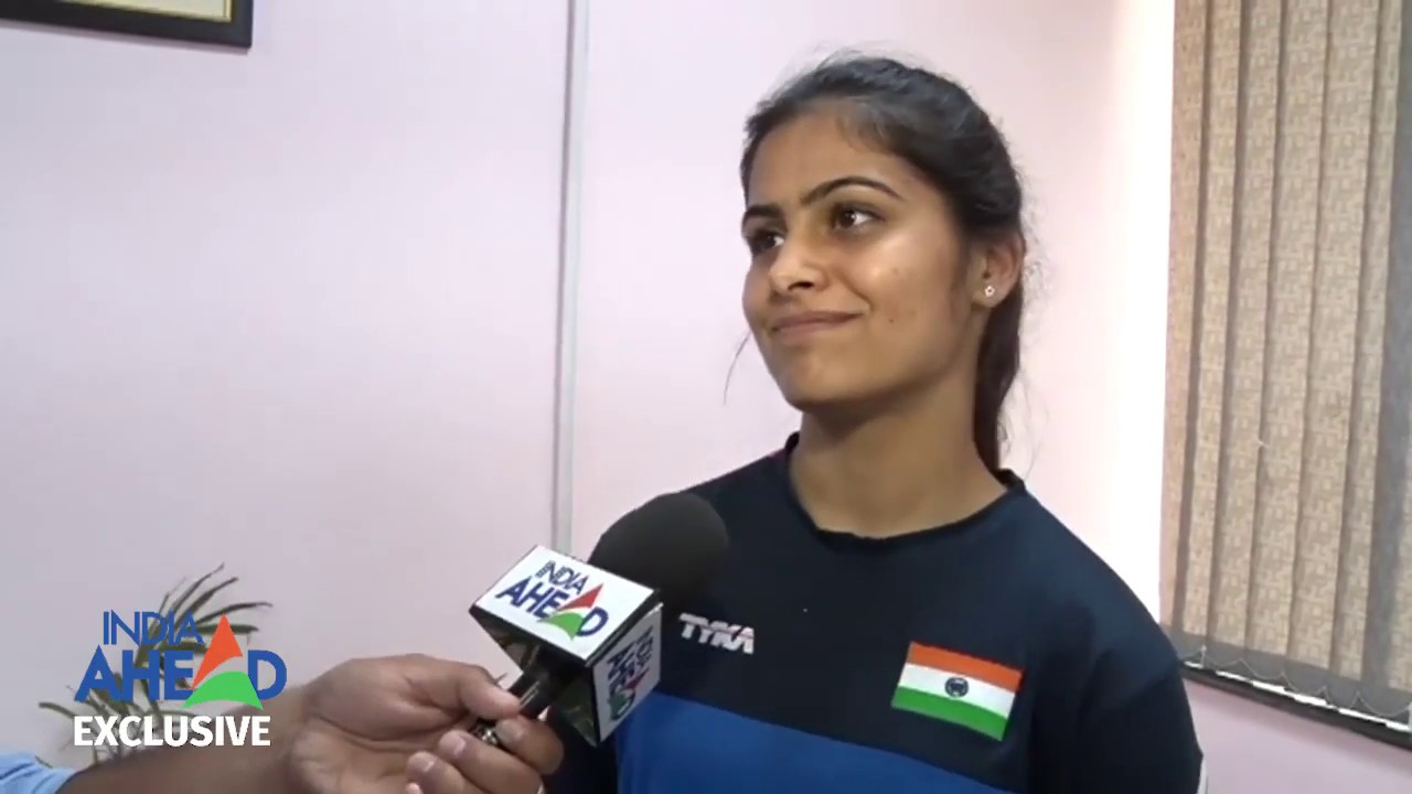 Manu Bhaker Speaks Exclusively To India Ahead | Indian Sport Shooters